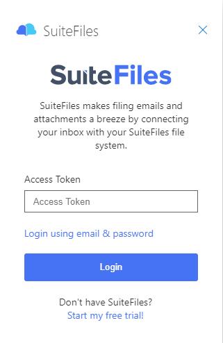 Outlook Web Access Token