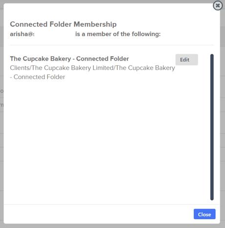 folder membership
