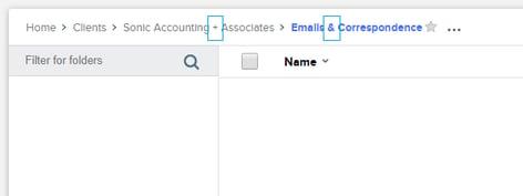 folder templates issue
